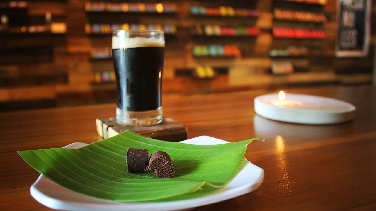 Chocolate and beer
